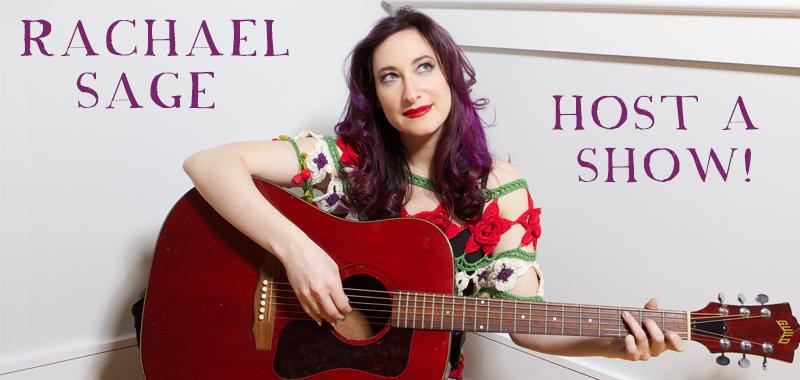 Host A Show For Rachael!