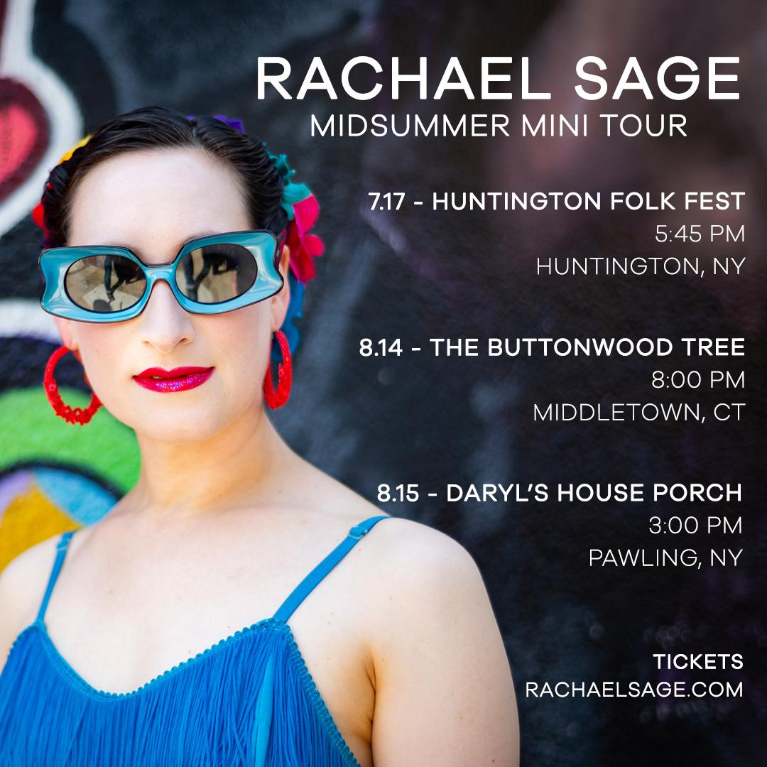 Rachael Sage Midsummer Mini-Tour